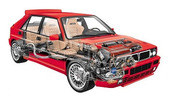 Thumbnail lancia delta hf turbo hf Integrale turbo 4wd